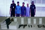 Three ABT-JMB operatives held with arms, ammos