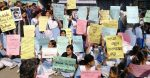 Viqarunnisa students resume demo for second day